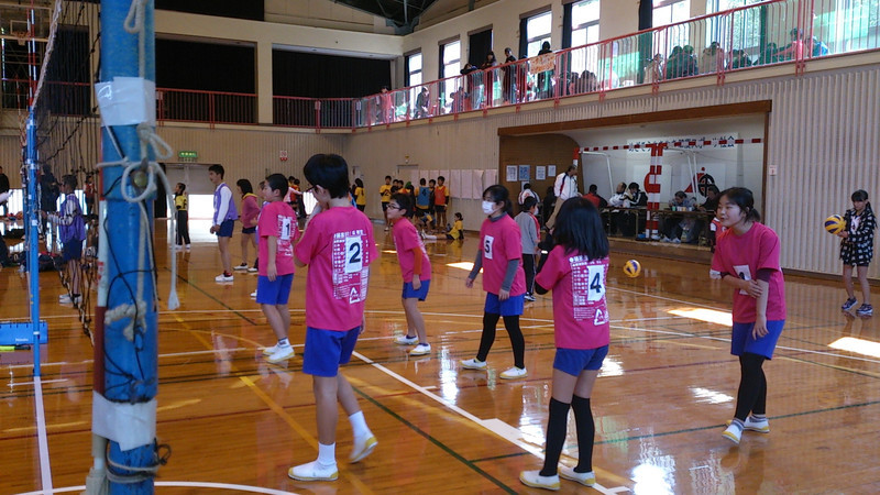 ソフトバレーボール大会