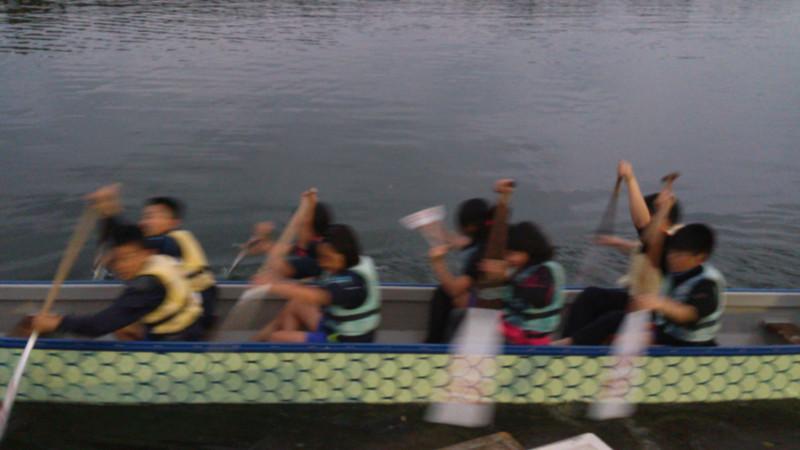 ドラゴンボート練習2