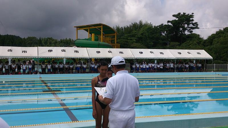 水泳記録会速報