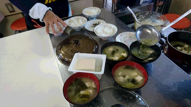おいしいご飯とお味噌汁~