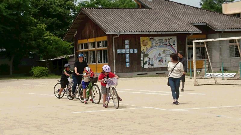 自転車安全教室&親子レク