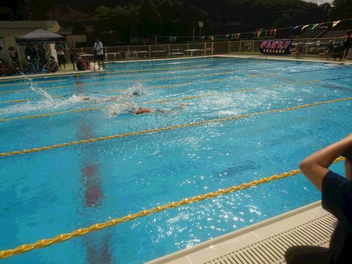 水泳頑張ってます!