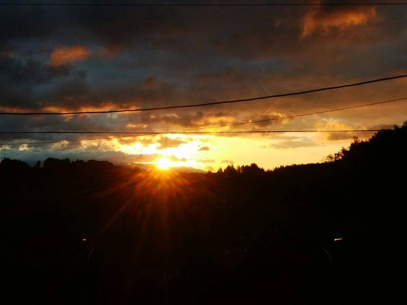 朝夕の美しさ