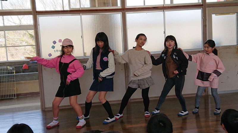 ダンス発表②