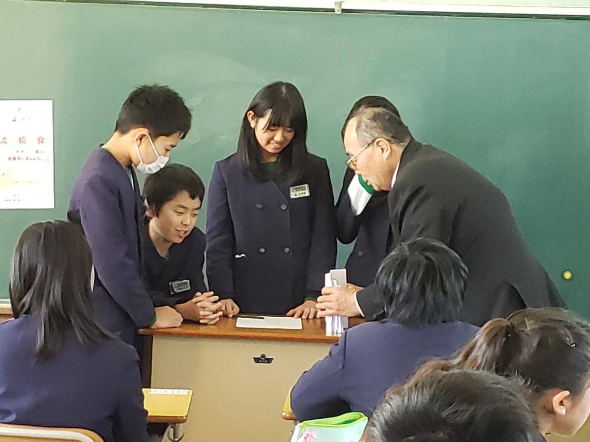 出前授業に、入学説明会に